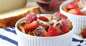 Strawberry-Shortcake-Bread-Pudding